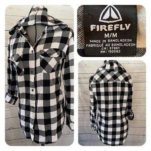 Firefly Buffalo-check Hoodie
